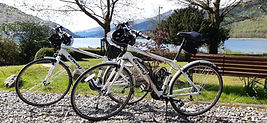 Bikes to borrow from Ashfield House, near Loch Lomond