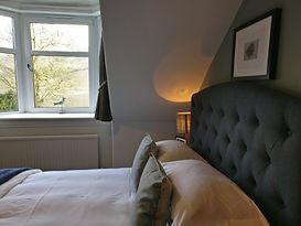 Loch View bedroom Ashfield House Loch Lomond