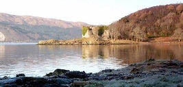 Mclaughlin's castle on Loch Fyne