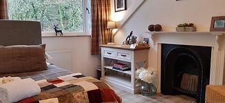 Mountain View annex bedroom at Ashfield House boutique b&b near Loch Lomond