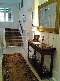 Entrance hallway at Ashfield House B&B Arrochar