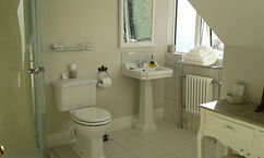 Ashfield House, B&B, Arrochar, Loch View Bathroom
