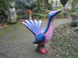 vrolijke vogel