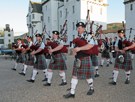 Day 486: Pitlochry & Blair Atholl Pipe Band: A National Treasure, 2010