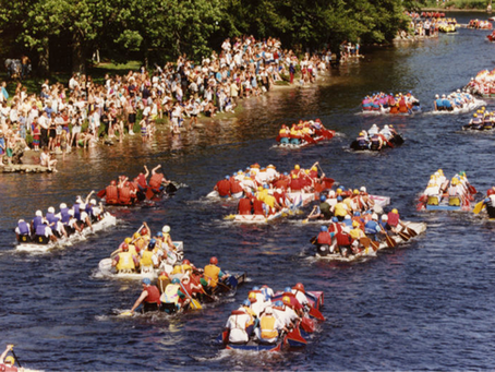 Day 452 - The Great Kenmore To Aberfeldy Raft Race, 1976 - 1992