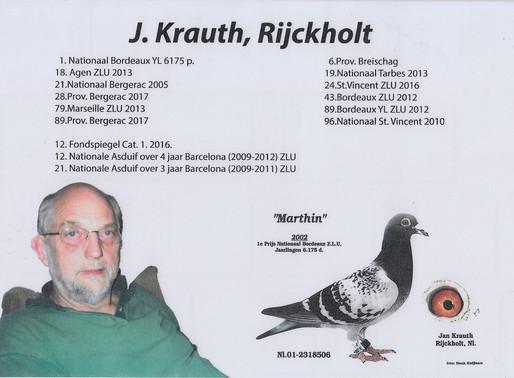 *NEW TRANFERT* 3:Original: J. KRAUTH, RIJCKHOLT (NL)