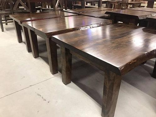 Mennonite Live Edge Wide Coffee Table