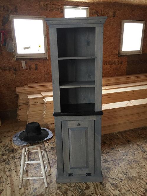 Amish Garbage Unit Hutch