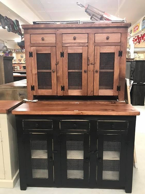 Amish Chicken Wire Sideboard- 3 & 4 Door