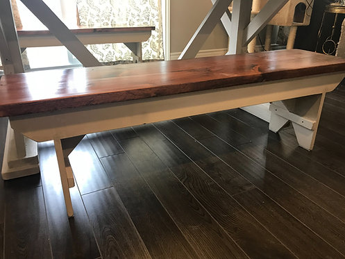 Amish Harvest Table Bench