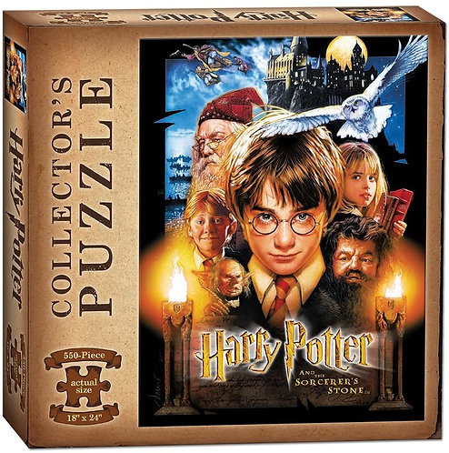 Harry Potter and Sorcerer's Stone 550 Piece Puzzle *IN STOCK*