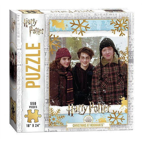 Christmas at Hogwarts 550 Piece Puzzle *IN STOCK*