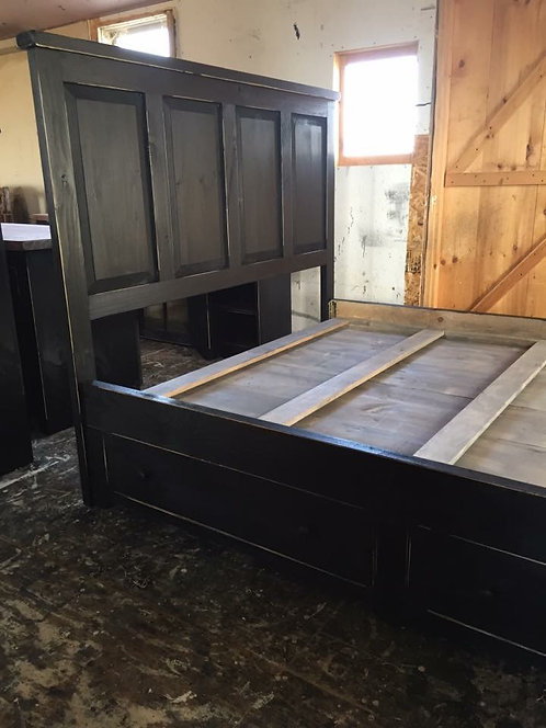 Amish Under Bed Drawer Unit (Full Unit)