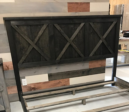 Amish King Headboard ONLY- 2 Styles
