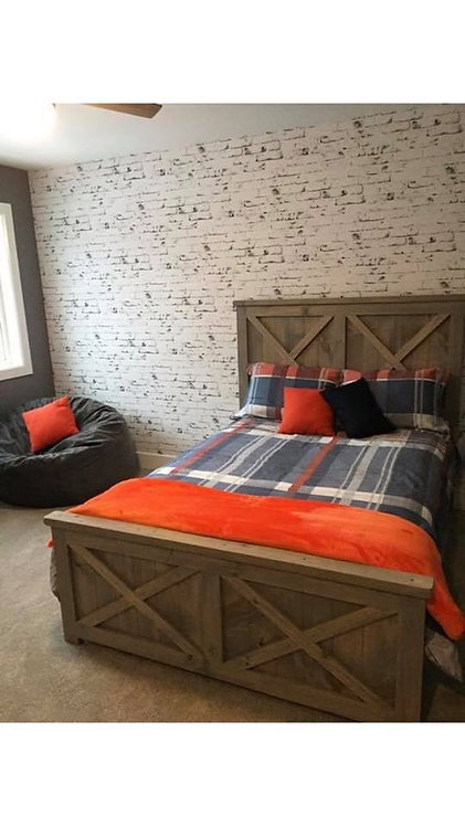 Amish Queen Bed- 2 Styles