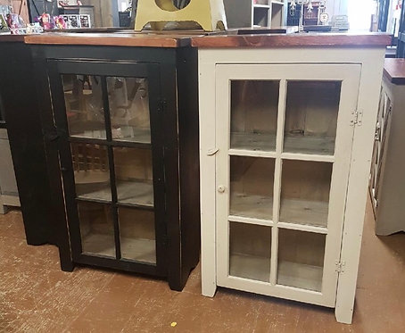 Amish Glass Book Case