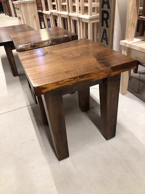 Mennonite Live Edge End Table