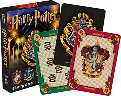 Harry Potter Playing Cards- 2 Styles *IN STOCK*