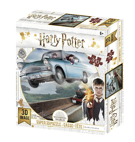 Ford Anglia 3D 300 Piece Puzzle