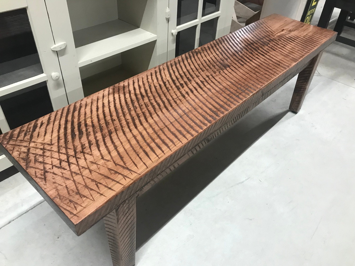 Cool Mennonite Harvest Table Bench Sawcut Alphanode Cool Chair Designs And Ideas Alphanodeonline