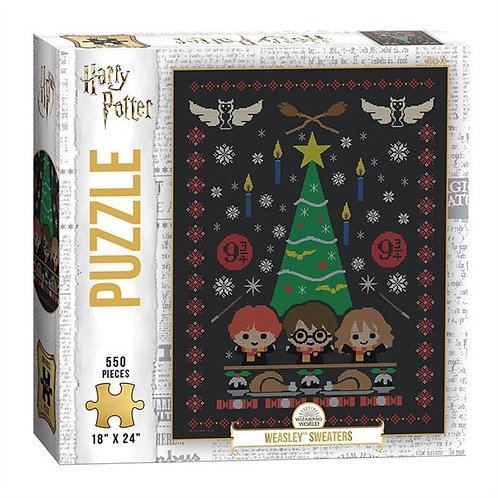 Weasley Sweaters 550 Piece Puzzle *IN STOCK*