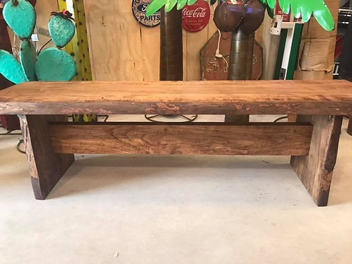 Mennonite Live Edge Maple Bench- 4 Lengths