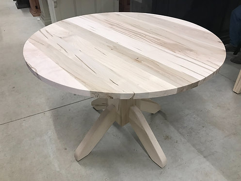"""Mennonite 42"""" Round Dining Room Table"""