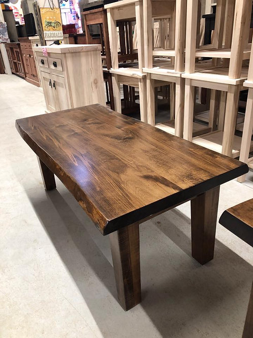 Mennonite Live Edge Long Coffee Table