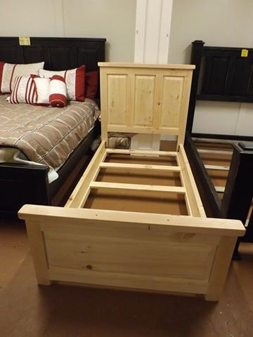 Amish Twin Bed