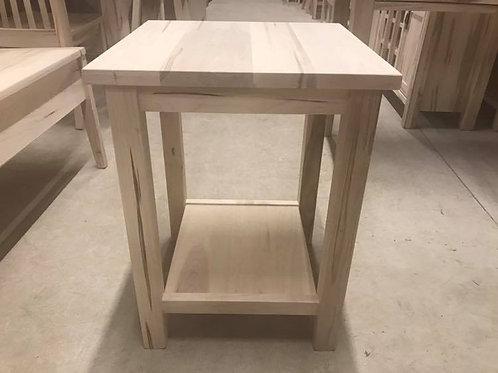 Mennonite Side Table (Shelf)
