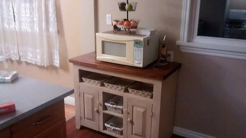 "Amish 42"" Open Console- 2 Depths"