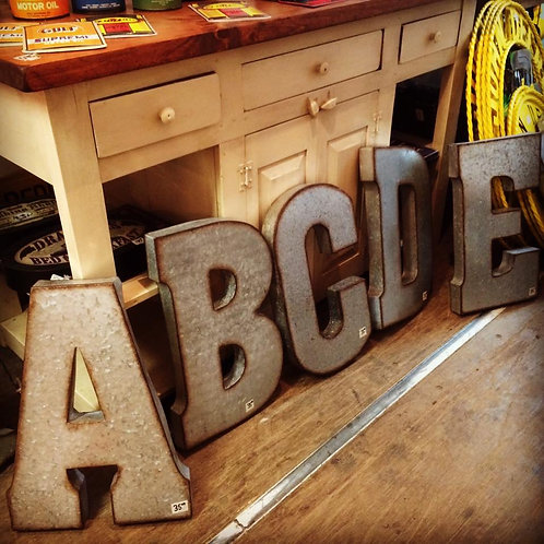 Metal Letters- A to Z