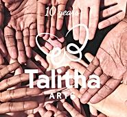 Talitha 10th Anniversary Logo