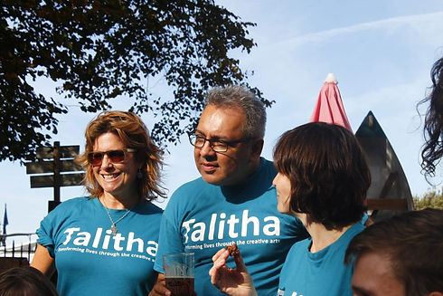 Talitha Volunteers with Talitha Shirts