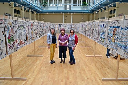 Caroline Watson Artist - Great Tapestry Scotland