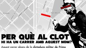 Comença la campanya per canviar el nom al carrer Coronel Sanfeliu.