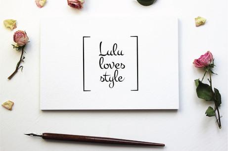 Branding for Lulu Loves Style