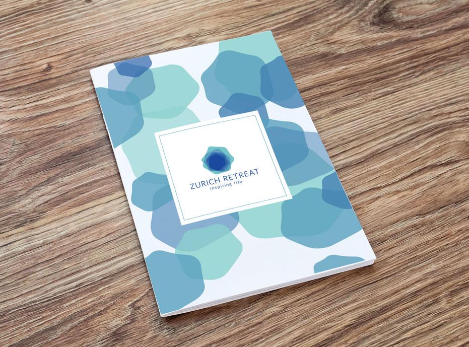 Brochure design for Zurich Retreat