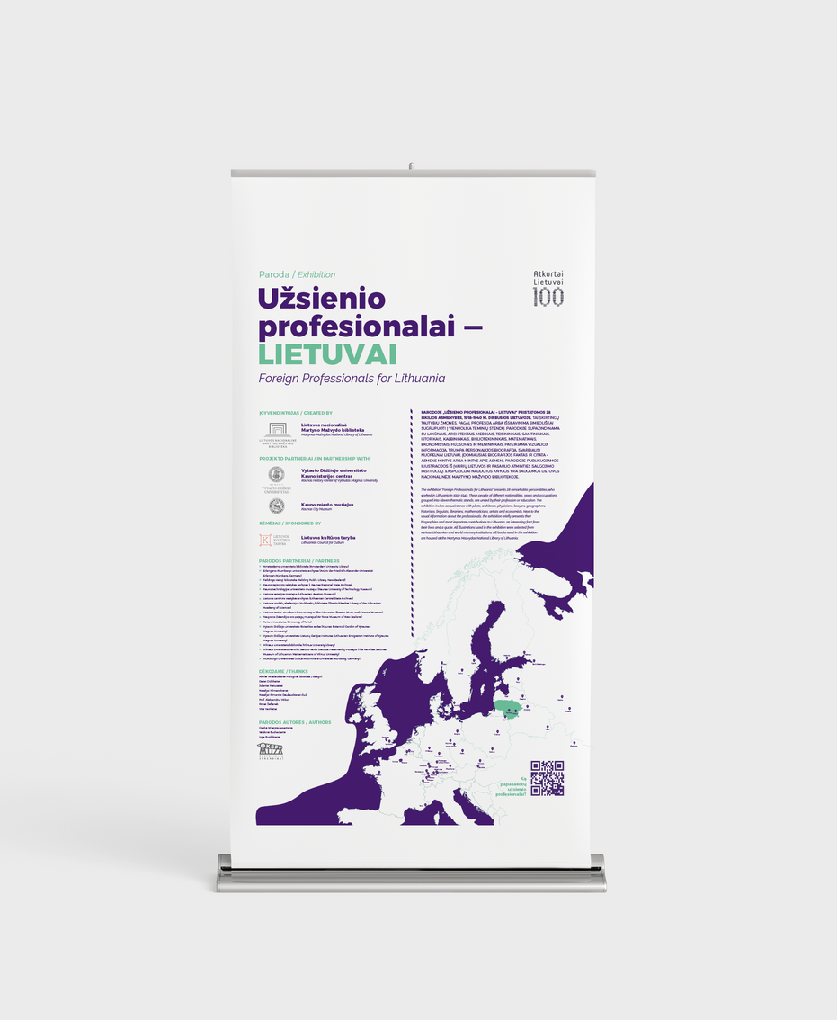Exhibition design for National Library