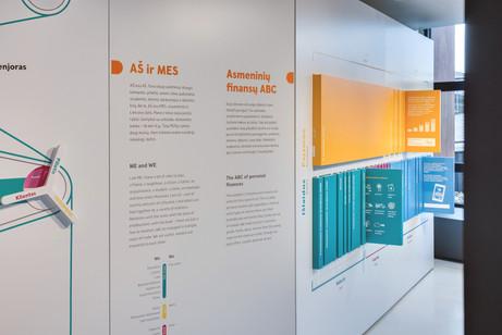 Illustrations for Swedbank Finance Lab