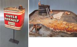 Bain d'huile / 2013 / (vendu)