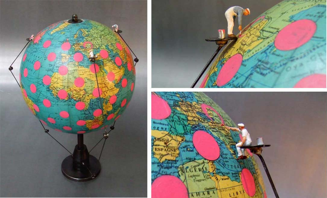 Geographication / 2011 / (vendu)