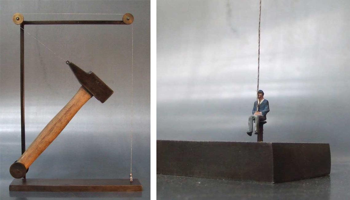Le marteau de Damoclès 2013 (vendu)
