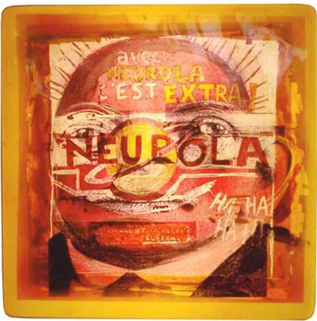 Neurola / 2002/ 40x40x12