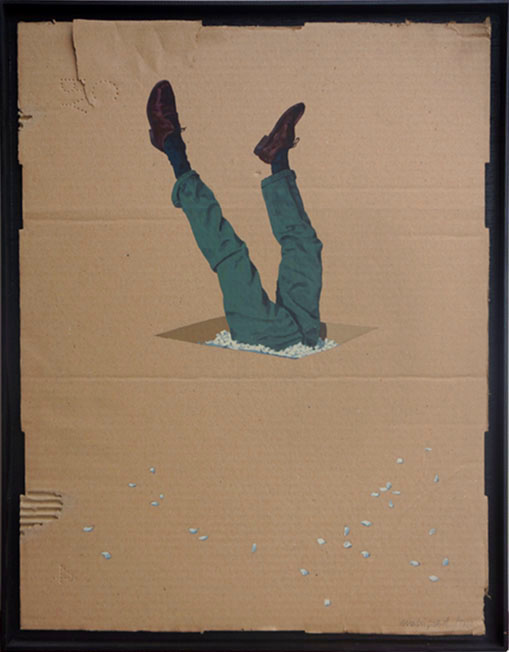Sans Tête 11 / 45x34  (vendu)