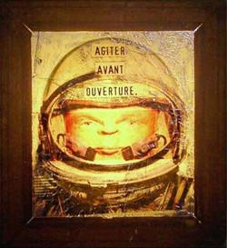 Agiter avant ouverture / 2003/ 45x35
