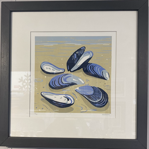 Mussels by Kate Neame