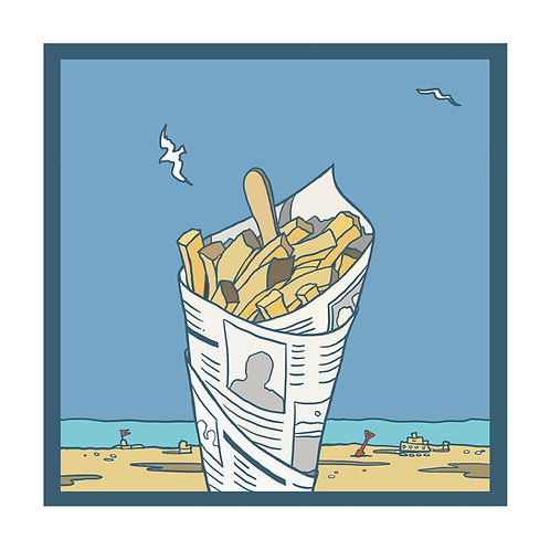 Chip Sky Limited Edition Print unframed