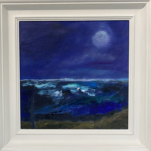 Moonlight over Sea by Lee Herapath-Bates