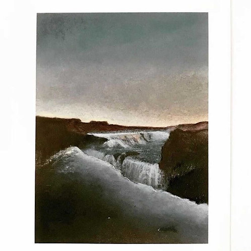 Iceland Study 6 by Harriet Peachy